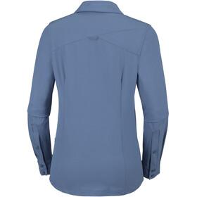 Columbia Saturday Trail - T-shirt manches longues Femme - bleu